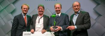 """Het winnen van de """"Green Tulip Award"""""""
