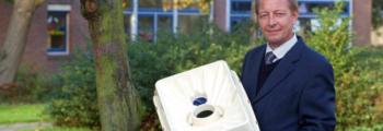De eerste planting met de Waterboxx®