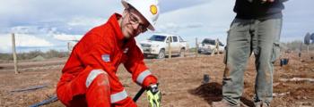 Shell plant de eerste proef in Argentinië